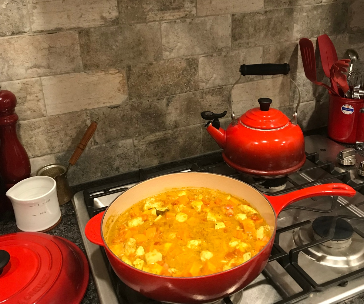 Chicken & Yam MadrasCurry